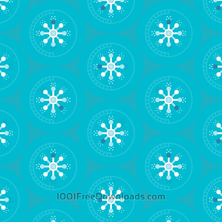 Free Abstract Circles Pattern