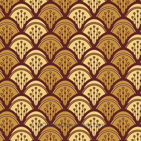 Free Roaring 1920s fan style pattern
