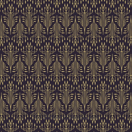 Free Roaring 1920s thin line style pattern