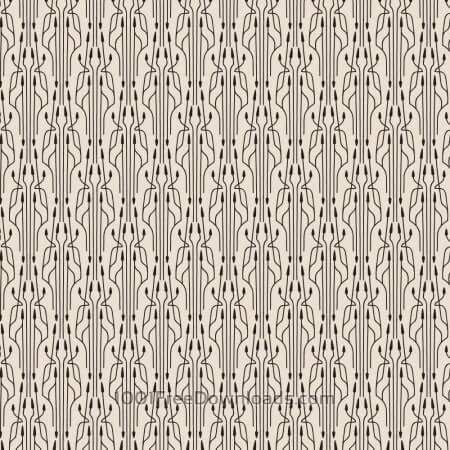 Free Roaring 1920s thin line style pattern