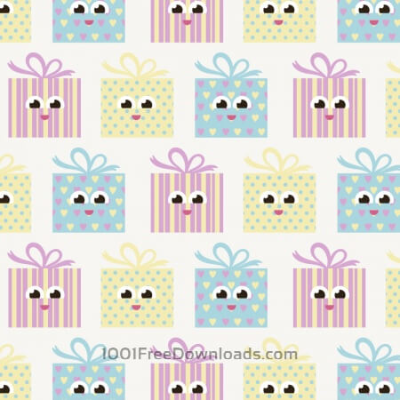 Free Cute pattern with gifts