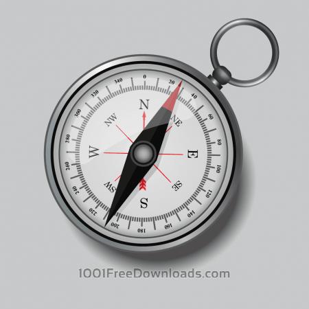 Free Compass illustration