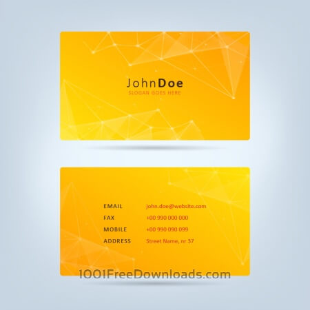 Free Technology Business Card