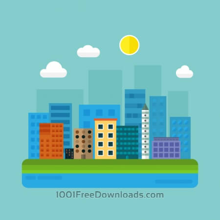 Free City Illustration