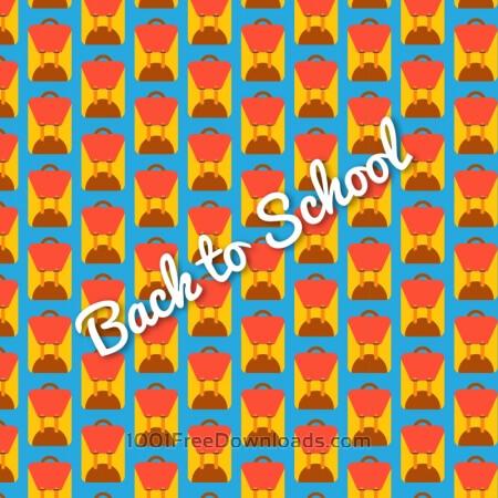 Free School bag pattern, back to school