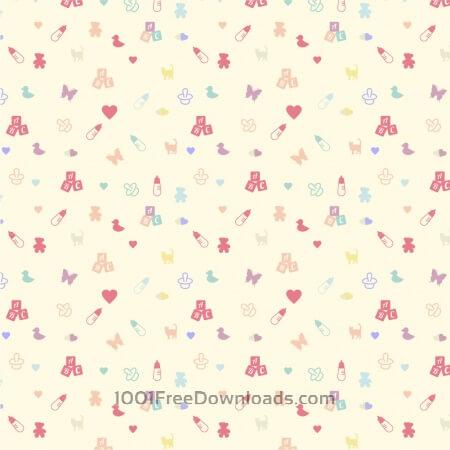 Free Cute baby pattern