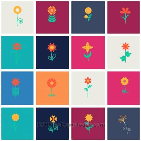Free Flower set