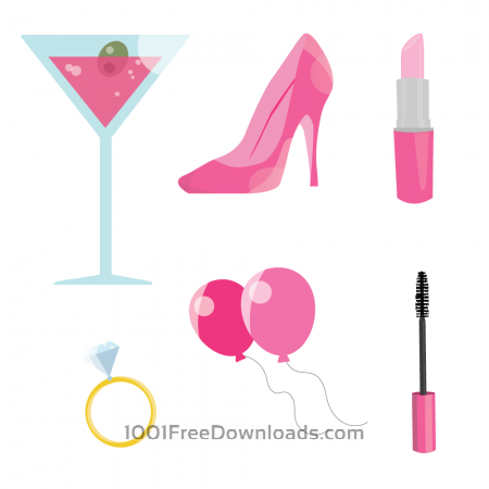 Free Pink Bachelorette Party