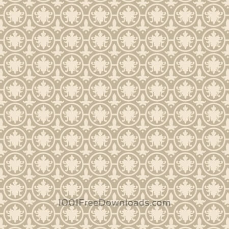 Free Vintage Ornate Low Contrast Cream Pattern