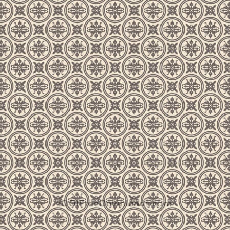 Free Ornate Purple and Cream Wallpaper Pattern