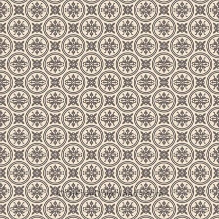 Free Ornate Purple and Cream Wallpaper Pattern