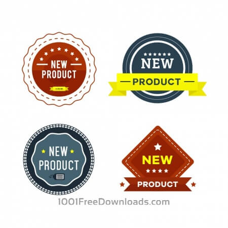 Free New Product Badges