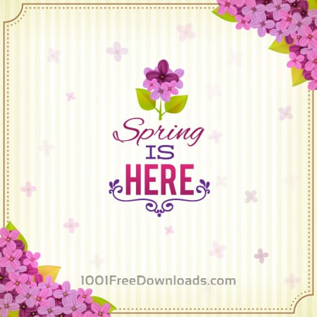 Free Spring illustrations