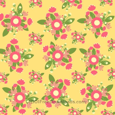 Free Hand draw seamless pattern