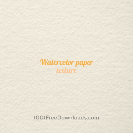Free Watercolor paper texture