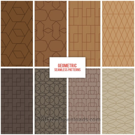 Free Geometric Seamless Patterns