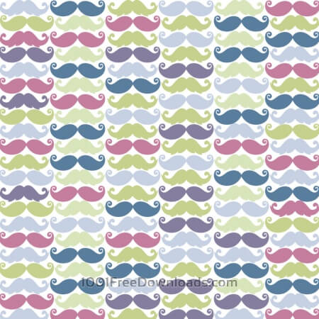 Free Moustache pattern