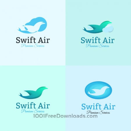 Free Airline logo template