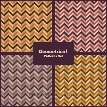 Free Geometrical Patterns Set