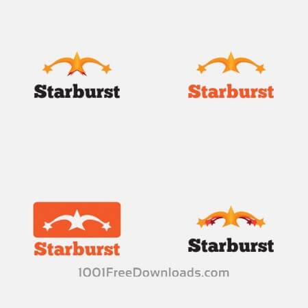 Free Starburst Vector Logo
