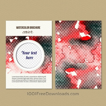 Free Watercolor cover