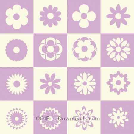 Free Flower illustration with metro background