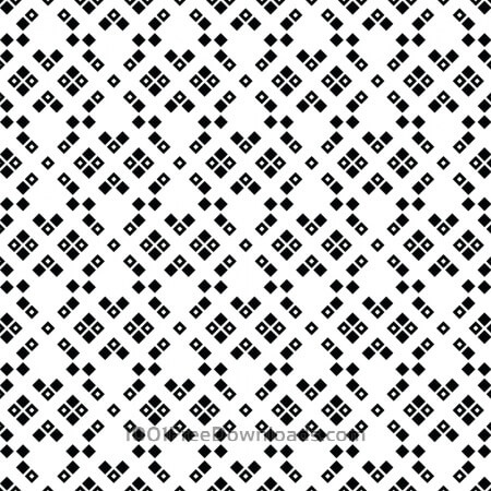Free Black and White Squared Pattern