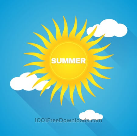 Free Nature summer background