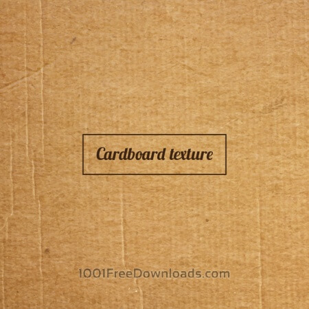 Free Cardboard texture or background