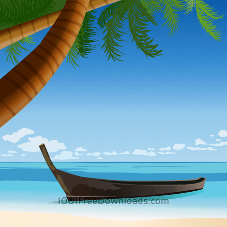 Free tropical beach