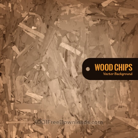 Free Wood Chips Vector Background