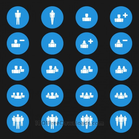 Free People Vector Icons