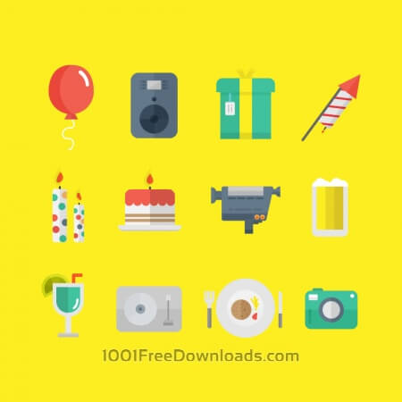 Free Party Icons