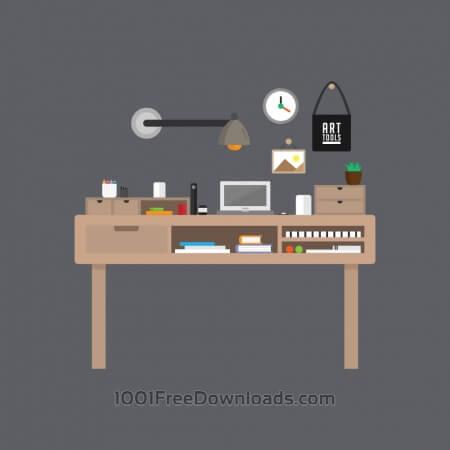 Free Modern Workspace
