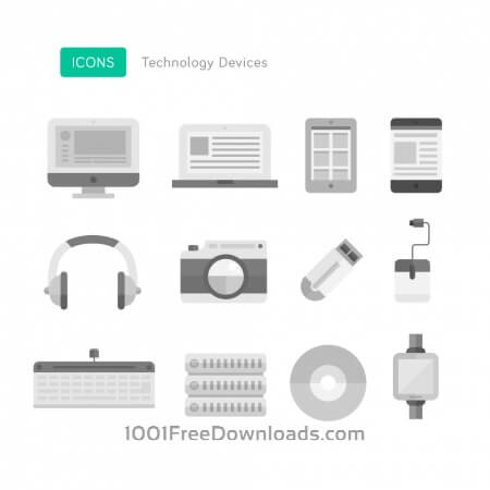Free Technology Device Icons