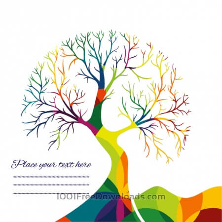 Free Abstract vector tree