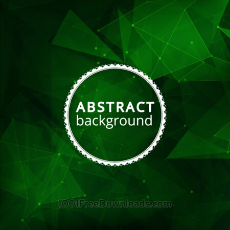 Free Abstract illustration with badge