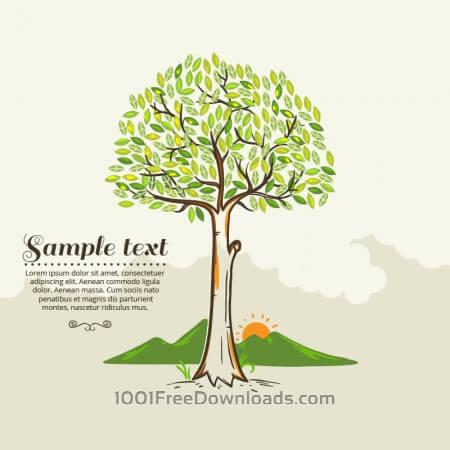 Free Tree vector illustration