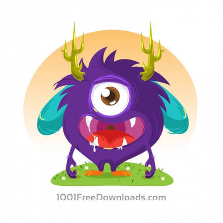 Free Cute monster