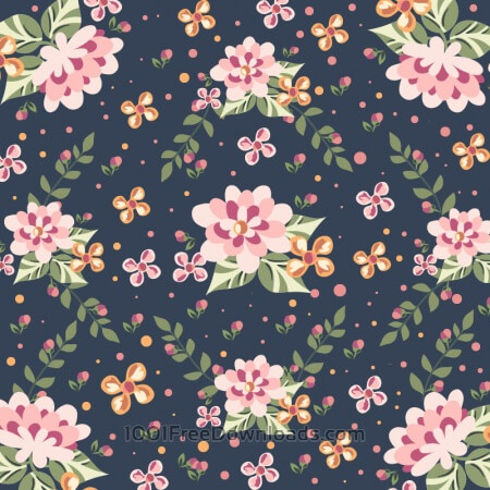 Free Floral illustration