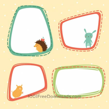 Free Animals Vectors 1001FreeDownloadscom