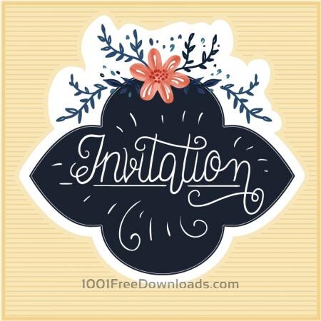 Free Vintage floral cards
