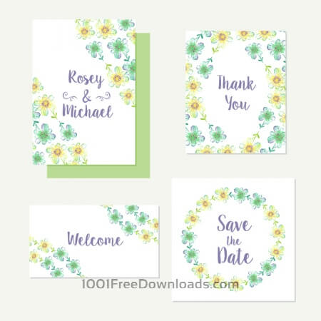 Free Floral cards