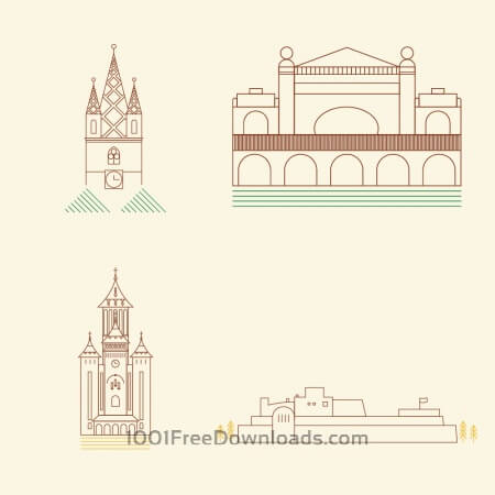 Free City Landmarks