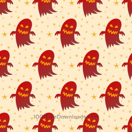 Free Halloween background with ghosts
