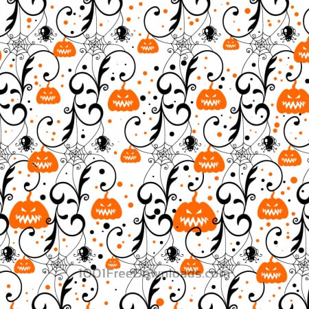 Free Halloween background with pumpkin