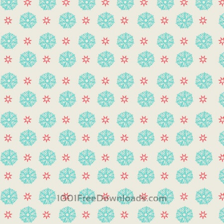 Free Snow flake pattern