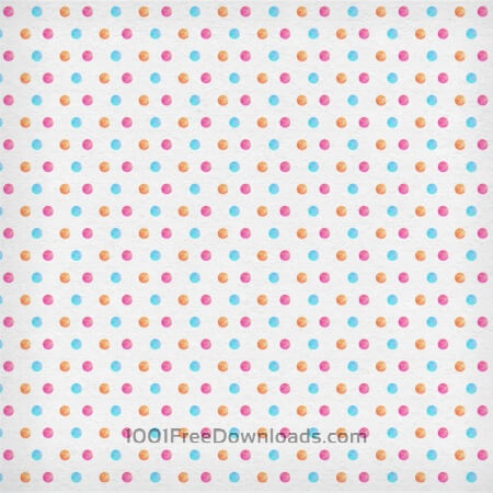 Free Watercolor polka pattern
