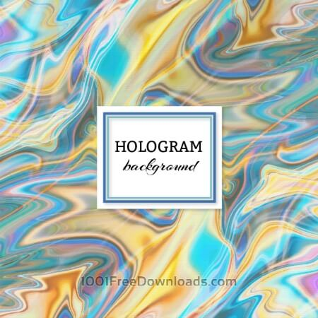 Free Hologram background