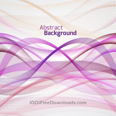 Free Abstract Background With Waves